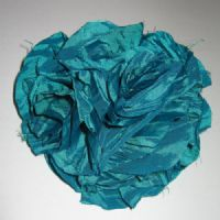 Teal Wedding Corsage for Mother of the Bride